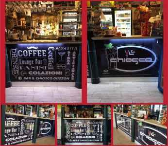 """Bancone """"Bar il Chiosco"""""""