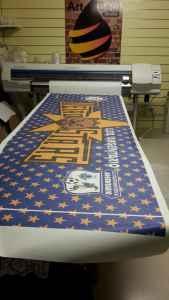 """Banner per la squadra di calcio a 5 """"Metrostars"""""""