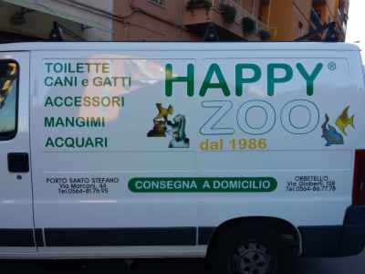 "Furgone ""HAPPY ZOO"""