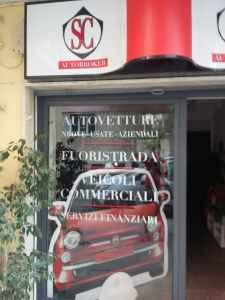 """Vetrofania """"SC Autobroker"""""""