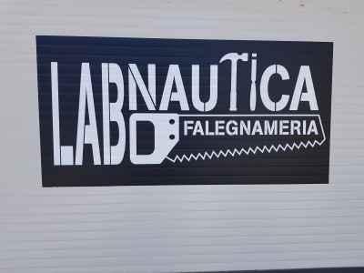 """Logo falegnameria """"LAB Nautica"""""""