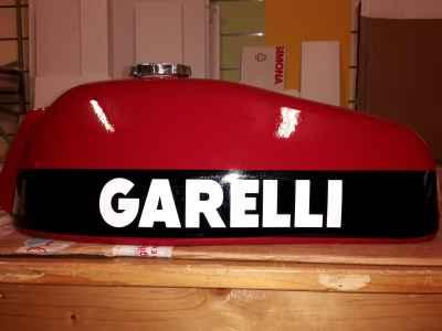 """Personalizzazione serbatoio moto """"Garelli"""""""