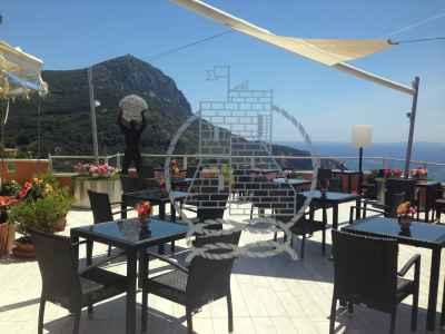 """Vetro ristorante """"Hotel Torre di Cala Piccola"""""""