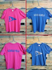 """T-shirt bambino Scuola Vela """"CVC"""""""