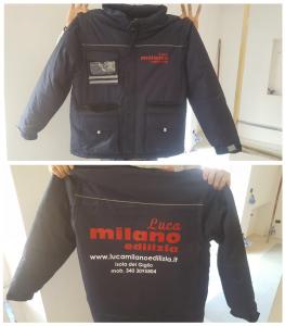 """Giacca lavoro """"Luca Milano Edilizia"""""""